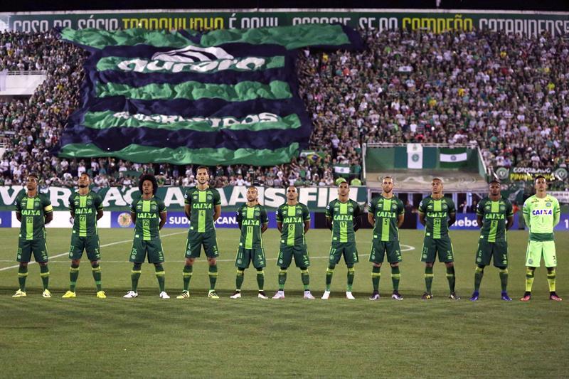El Chapecoense de Brasil iba a disputar su primera final de la Copa Sudamericana.