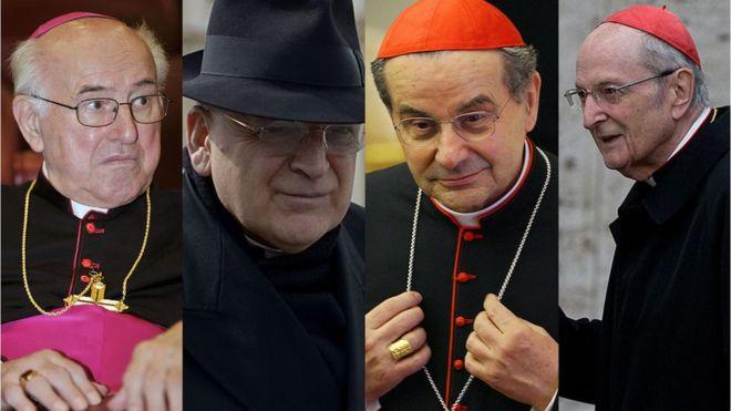 Los cardenales del Vaticano que acusan al papa Francisco de hereje