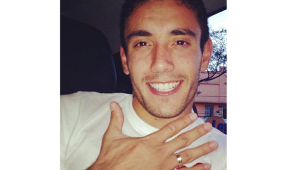 Ruschel con su anillo