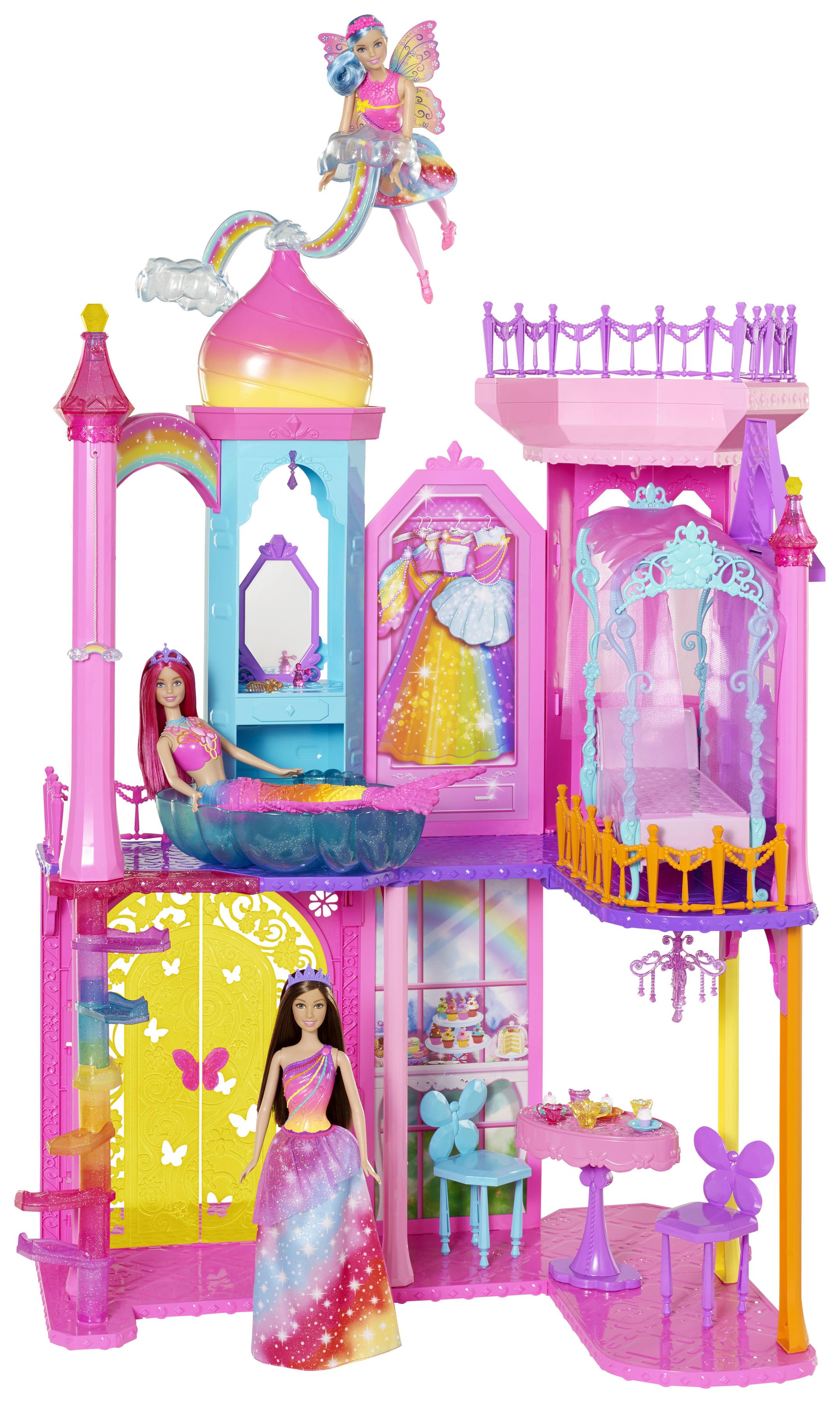 Castillo de la Princesa Barbie Rainbow Cove.