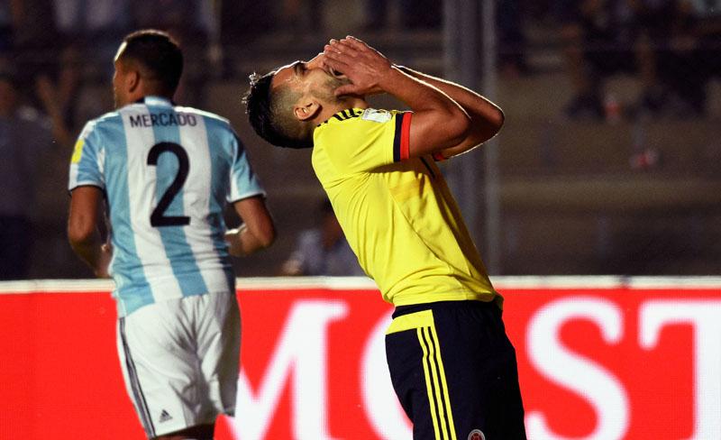 Colombia, el gran perdedor de la fecha 12 de la eliminatoria mundialista sudamericana