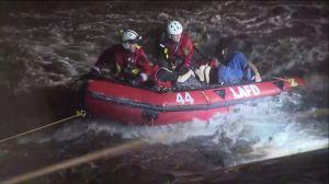 Varias personas tienen que ser rescatadas del L.A. River