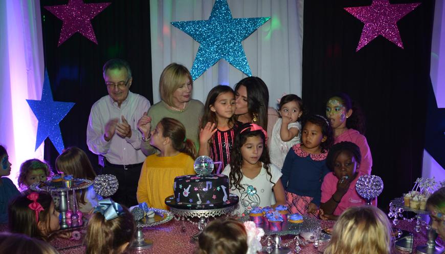 Cumpleaños de Camila Andrea