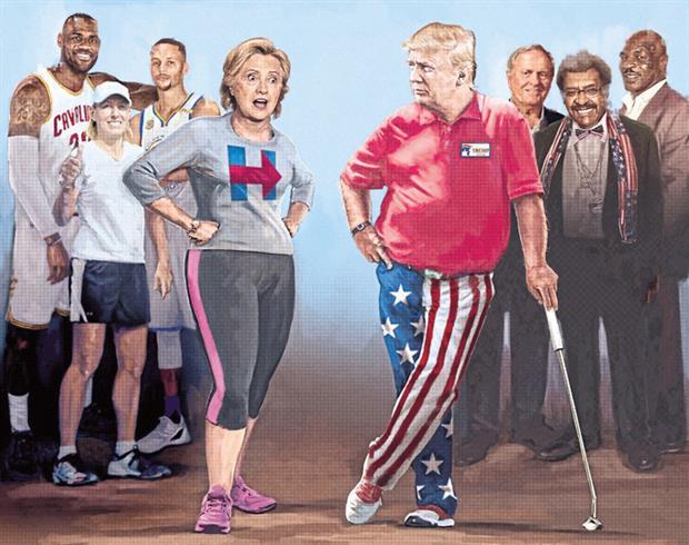 Elecciones en Estados Unidos: quiénes son los deportistas que apoyan a Hillary Clinton y quiénes, a Donald Trump