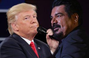 """Video: George López """"orina"""" en la estrella de Hollywood del presidente Trump"""