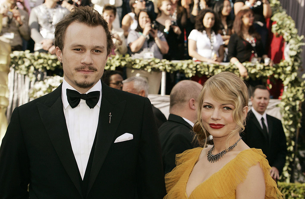 Heath Ledger y Michelle Williams.