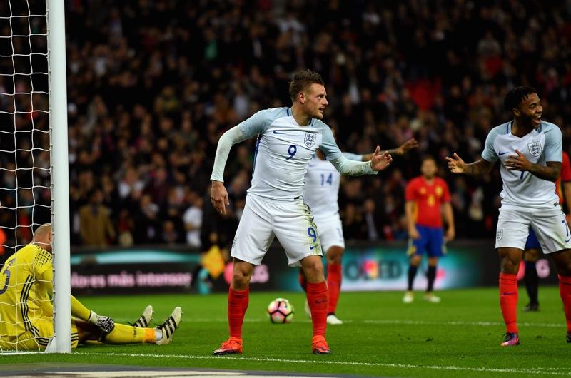 Video: El #MannequinChallenge llegó con Vardy hasta Wembley
