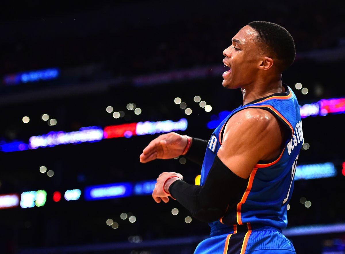 Westbrook está quemando la NBA (líderes individuales de la temporada)