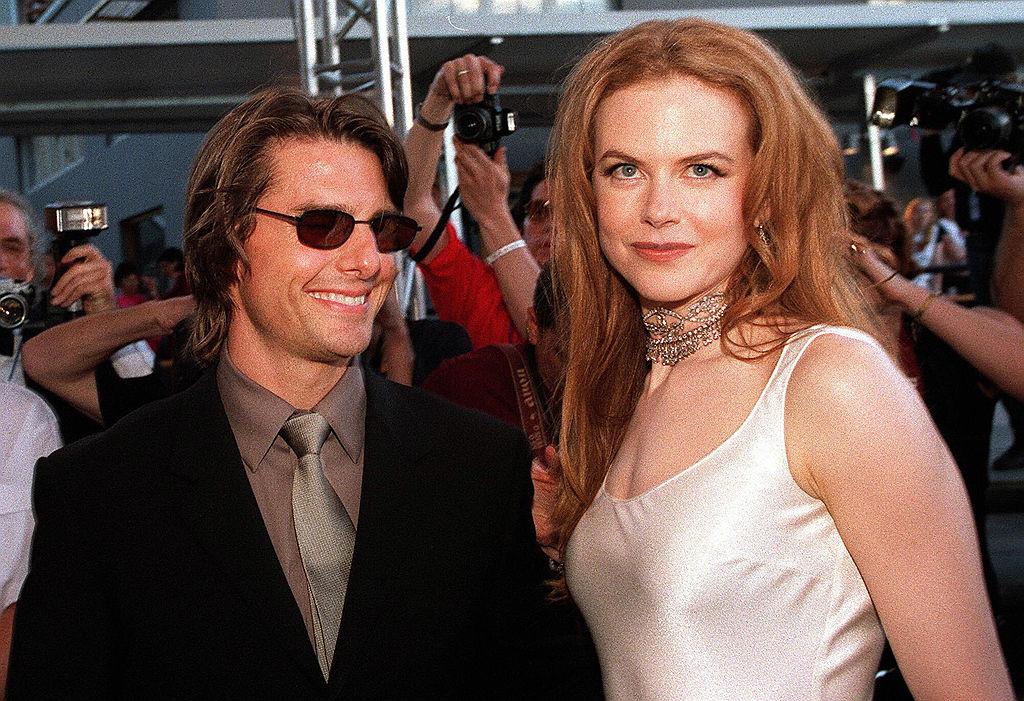 Nicole Kidman junto a Tom Cruise.