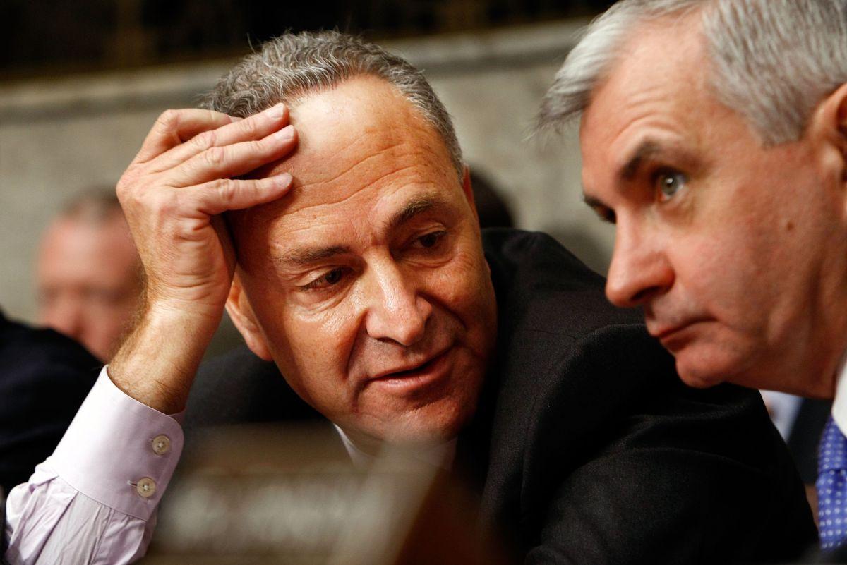 Schumer será líder de la minoría demócrata en el Senado