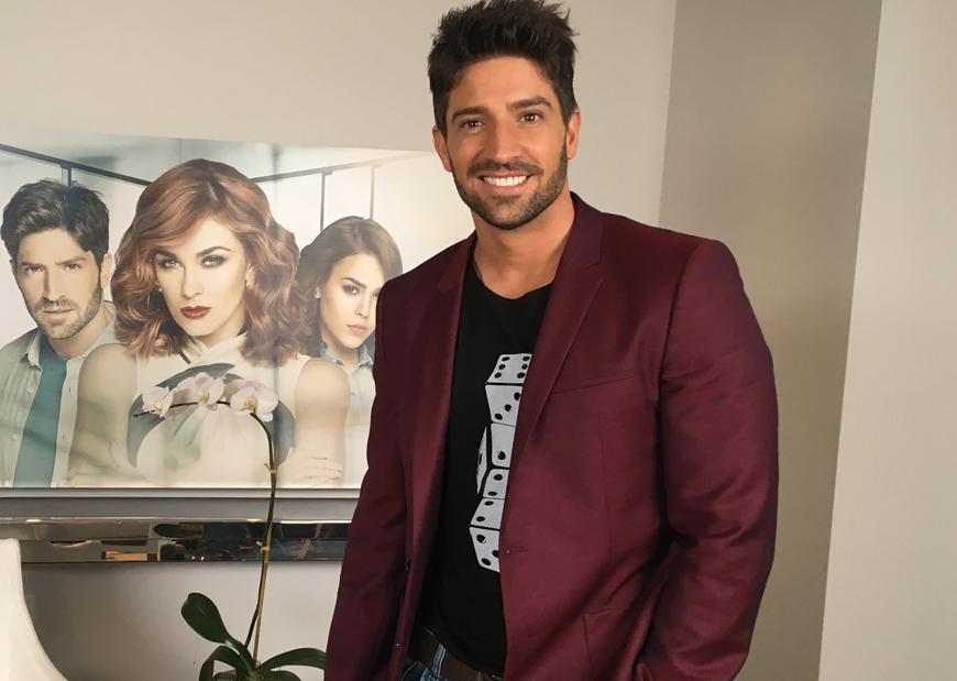 David Chocarro es Saúl Aguirre en 'La Doña'.