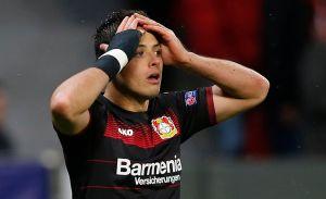 """""""Chicharito"""", a romper la sequía goleadora con Leverkusen"""