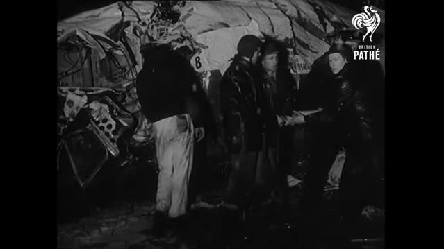 Jugadores del Manchester United murieron en un accidente aéreo en 1958.