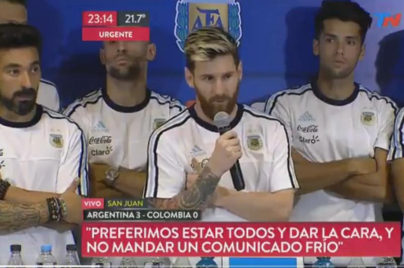 Video: Periodista acusa a Lavezzi de fumar marihuana y Messi anuncia 'Ley del hielo' a la prensa