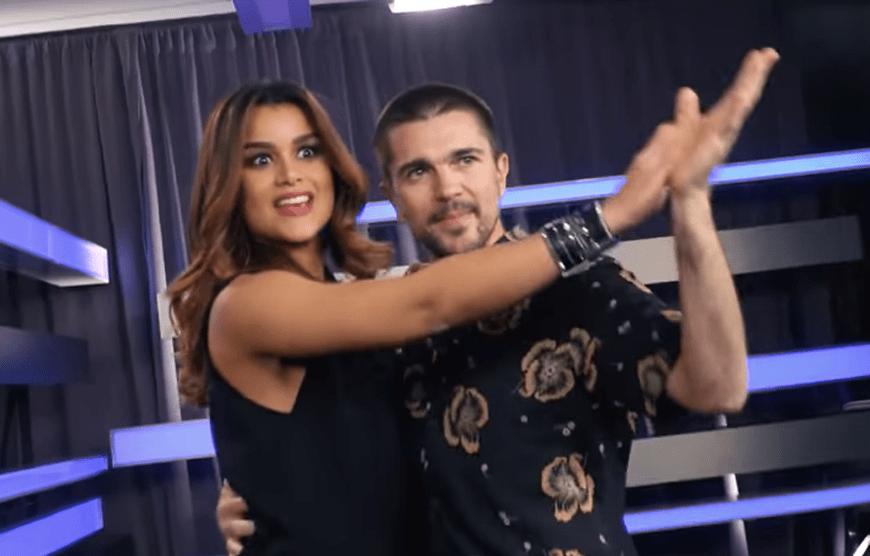 Clarissa Molina baila un merengue con Juanes ¡Y sacan chispas!