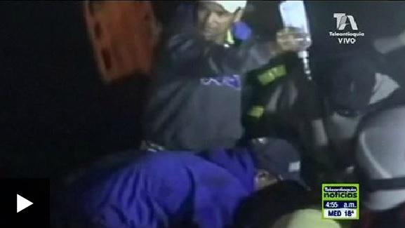 Video: primeras imágenes del accidente de avión en el que viajaba el Chapecoense