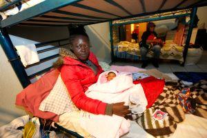 Sin esperanza de asilo en EEUU, haitianos luchan por quedarse en México