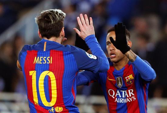 Según una revista, ambos jugadores del Barcelona tienen un valor superior al portugués.