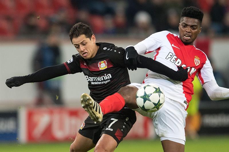"""Javier """"Chicharito"""" Hernández, delantero del Bayer Leverkusen, entre los mejores del mundo."""