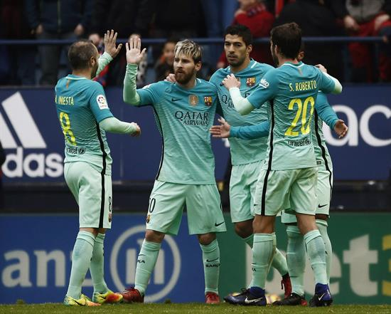 Messi ha vuelto y es quien lidera la pelea por el Pichichi.