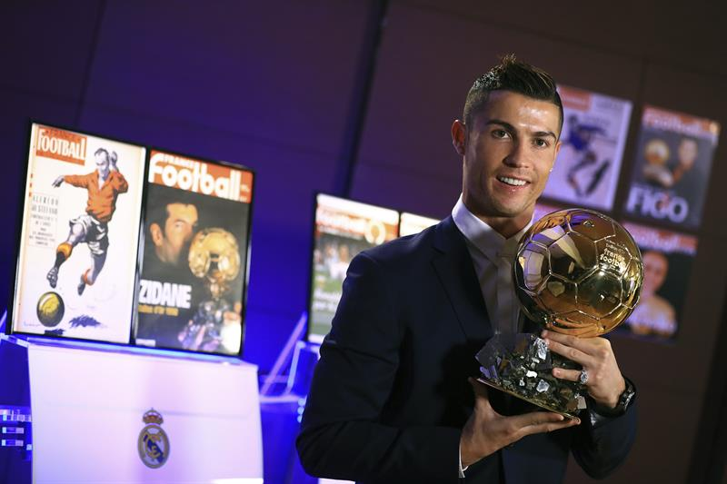 El detrás de escena del festejo de Cristiano Ronaldo por el Balón de Oro