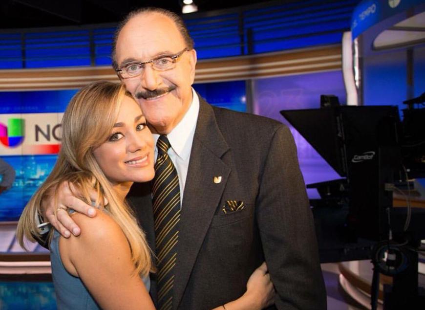 Guillermo Benites con Gloria Ordaz