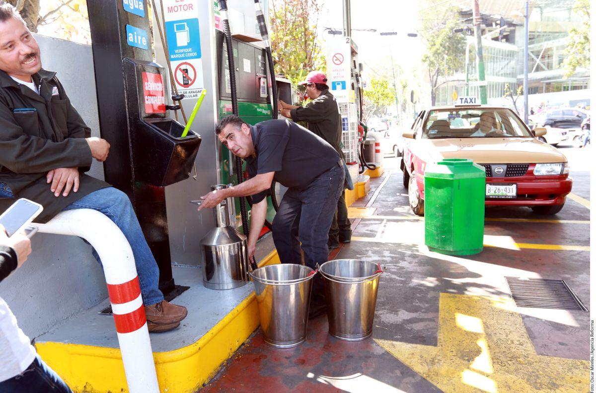 Alcalde de la Ciudad de México aumento a gasolina