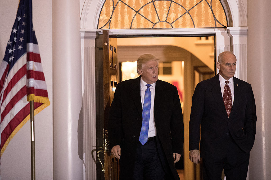 El presidente electo se reunió con el general retirado John Kelly el pasado 20 de noviembre.