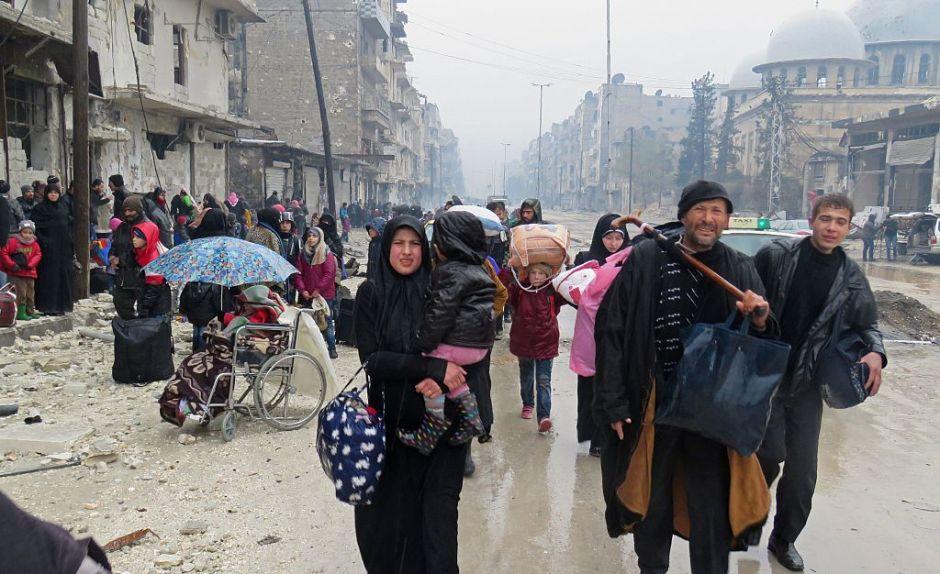 Siria: ONU denuncia atrocidades contra civiles en Alepo