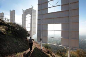 Se clausura entrada al letrero gigantesco de Hollywood