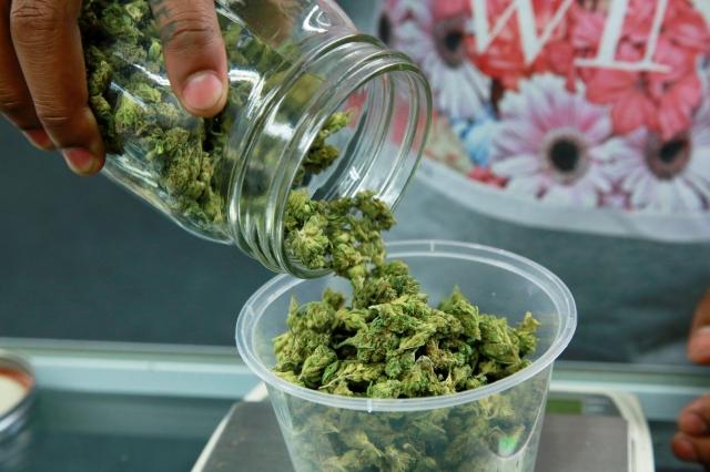 Venta de marihuana medicinal.