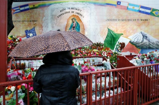 La Catedral de Los Ángeles se prepara para la celebración guadalupana