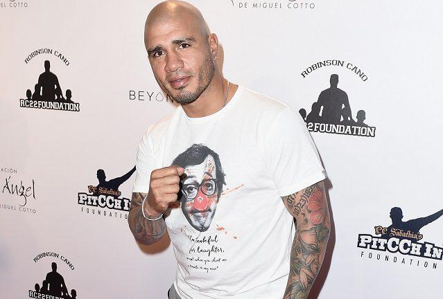 Miguel Cotto peleará el 25 de febrero en Frisco, Texas.