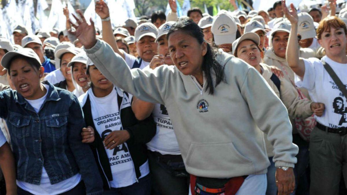 Milagro Sala, activista indígena de Argentina.