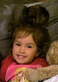 Los papás de la pequeña están detenidos por no poder proporcionar información concreta sobre su paradero.