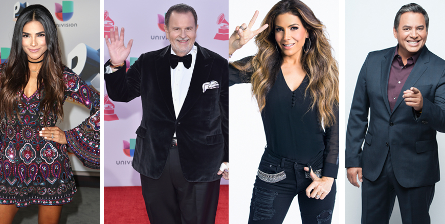 Univision vs Telemundo: Duelo de estrellas para recibir el año