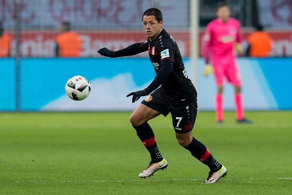Guerra en Twitter entre Bayer Leverkusen y Mönchengladbach ¡por culpa de Chicharito!