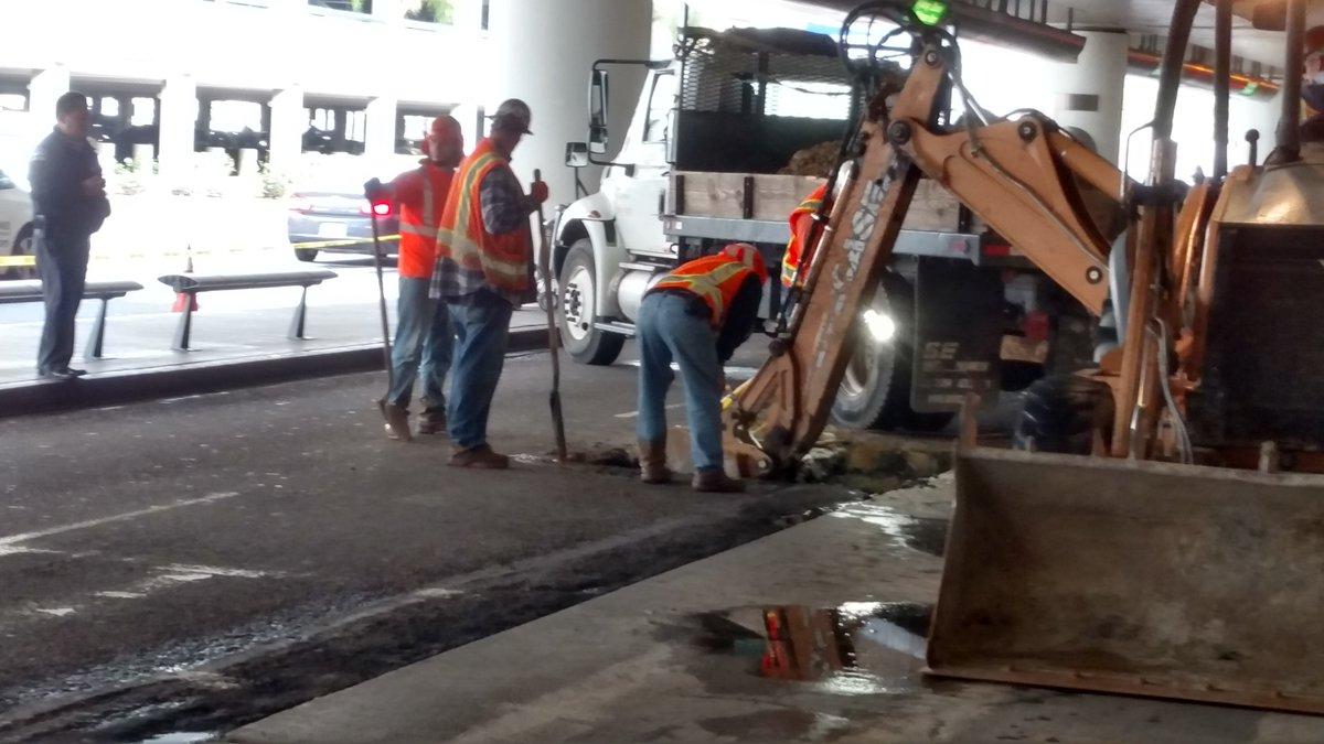 Una avería deja sin agua la Terminal 5 del LAX