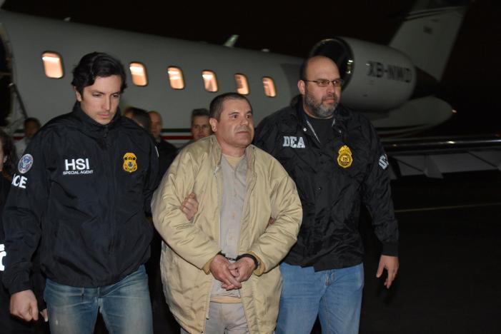 """Los cargos que enfrenta """"El Chapo"""" Guzmán en EEUU"""