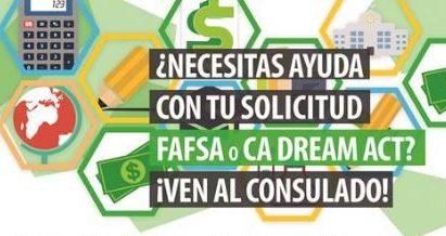 Ayuda gratuita con el llenado del formulario FAFSA y Dream Act de California