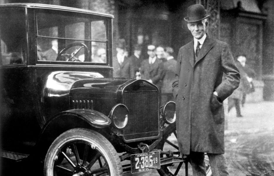 10 curiosidades acerca de Henry Ford