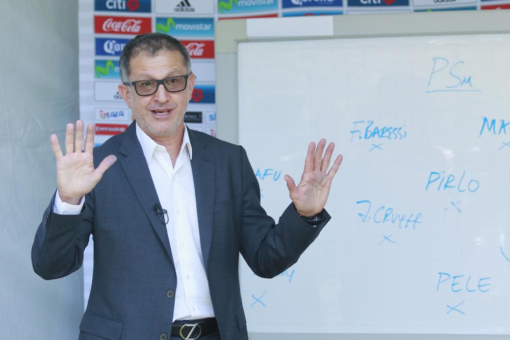 Juan Carlos Osorio anunció la convocatoria para el juego del Tri ante Islandia.