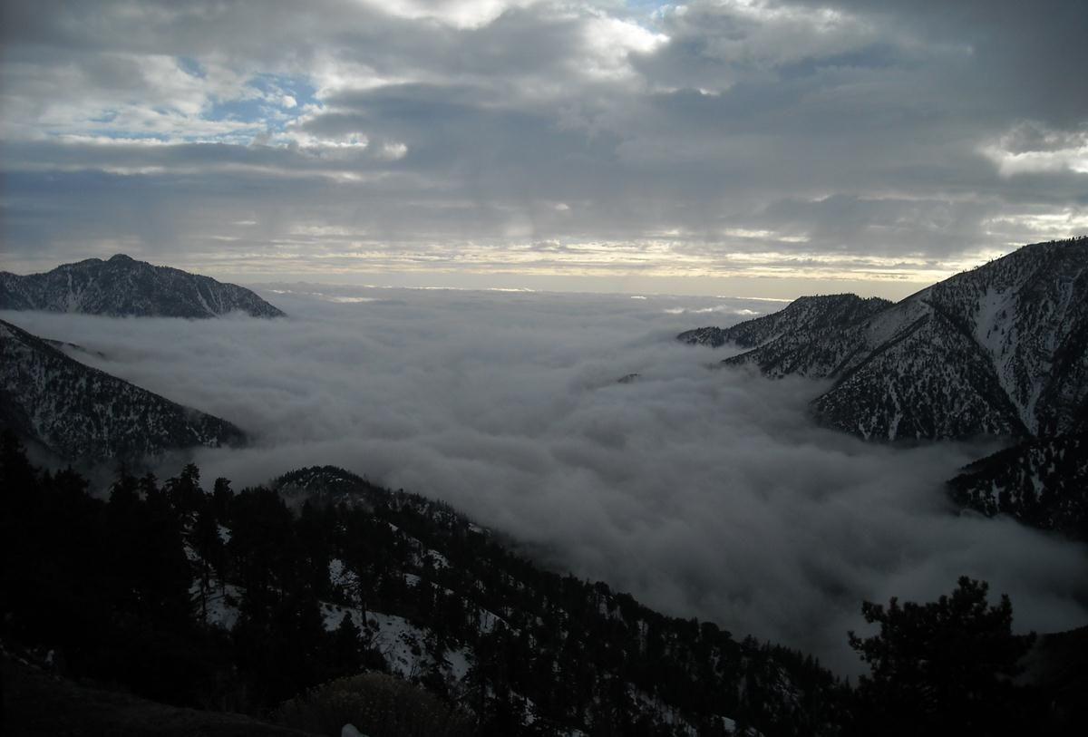 Riesgo de avalancha en el Bosque de Los Ángeles