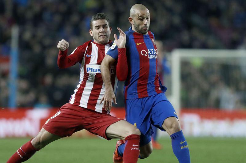 Hasta el útimo minuto Barcelona pudo aguantar para empatar con el Atlético de Madrid y pasar así a la final de la Copa del Rey.
