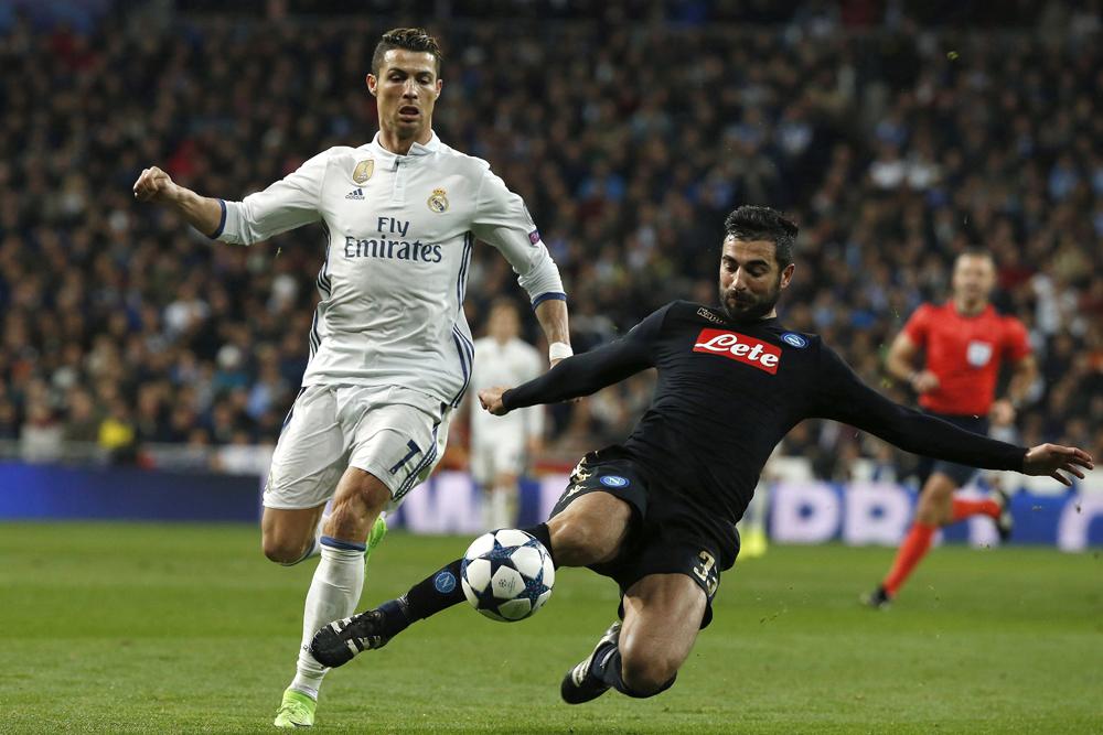 Cristiano Ronaldo acumula cinco asistencias en la actual Champions League.