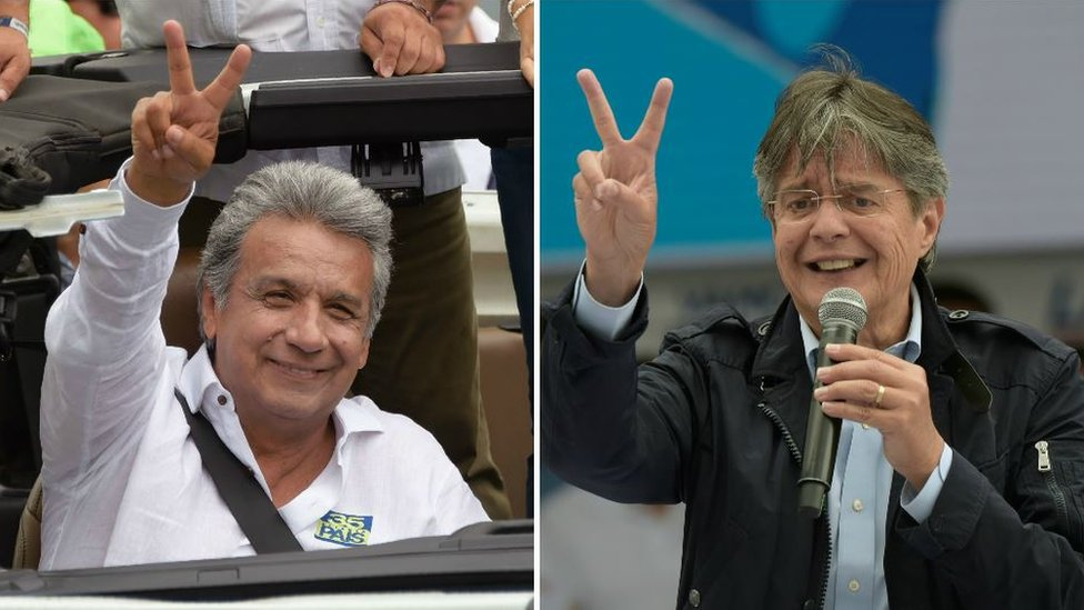 Ecuador: CNE confirma que habrá segunda vuelta entre Lenín Moreno y Guillermo Lasso
