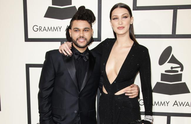 Bella y The Weeknd.
