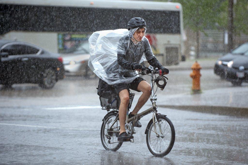 La probabilidad de lluvia es más alta en la costa que en la ciudad