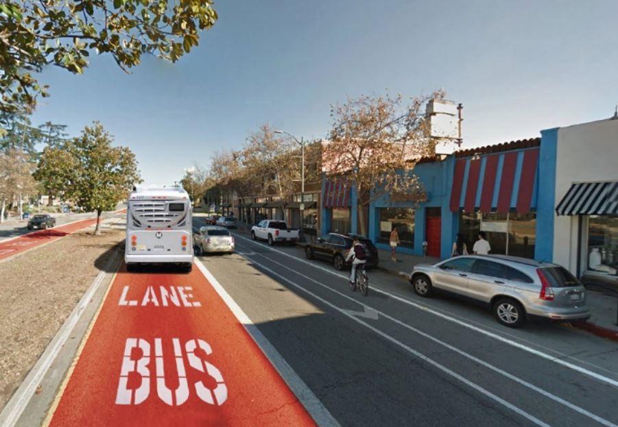 La línea contaría con carriles solo para uso del autobús, con lo que salvaría gran parte del tráfico.