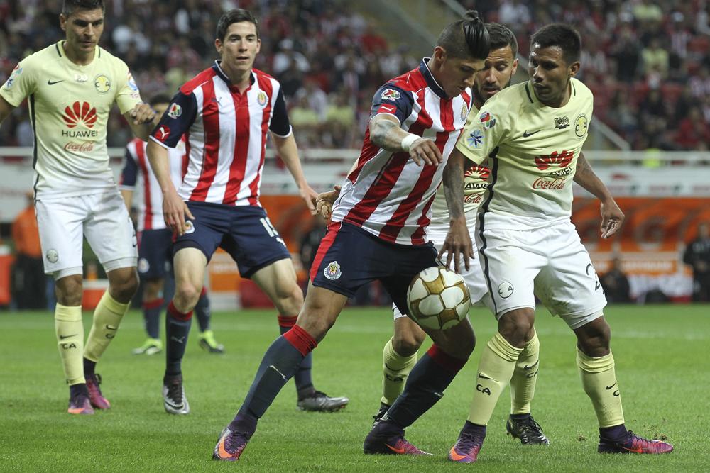 Las Chivas del Guadalajara recibirán a las Águilas del América.